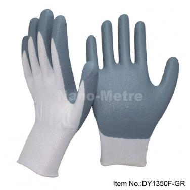 Foam Nitrile Dipping Cut Resistant Work Glove  -DY1350F-GR