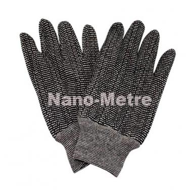 Zebra Jersey Gloves, Knit Wrist - JS35404