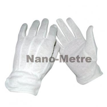 Bleached Cotton Interlock Glove - B5018C
