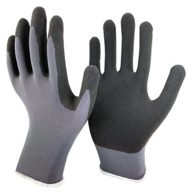 Ultra Touch Sandy Foam Nitrile Coating Nylon Spandex Palm Glove-NY1350F-UT