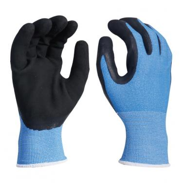 Coolpass Liner Foam Latex Dipped Palm Glove -NM1350F-CP