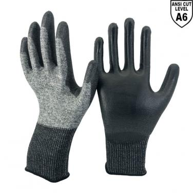 The Lightest ANSI CUT 6 Touch Screen Work Glove -DY1850H-T2