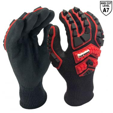 Strgst-Cut™ Fiber Knitted Liner With Max Anti-Impact Work Glove -DY1350AC3-H7