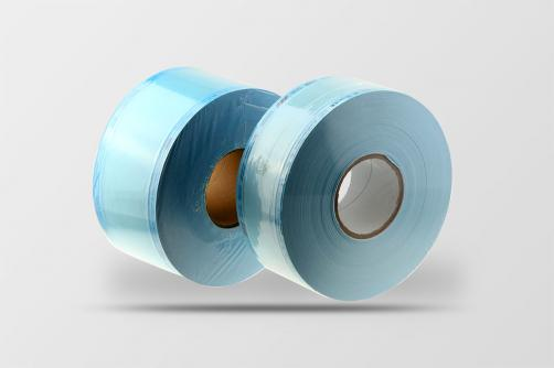 Flat sterilization reel roll