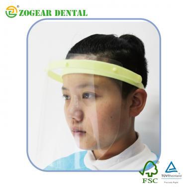 PB006A ZOGEAR dental protective face shield, anti fog