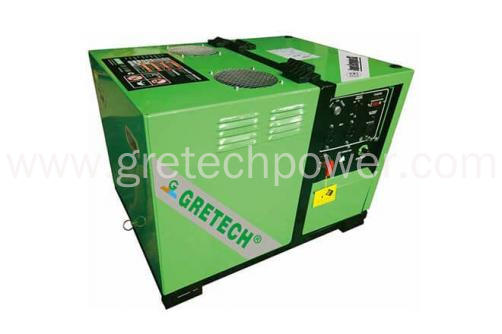 Gretech 5 kW LPG/Natural Gas Generator, Silent Type, Strong output, Low running cost, Compact  Model:JLD6500G/E/T