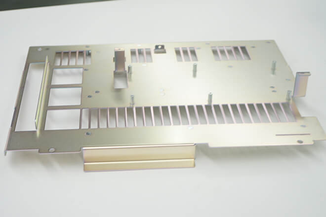 Sheet metal stamping part for machine equipment parts