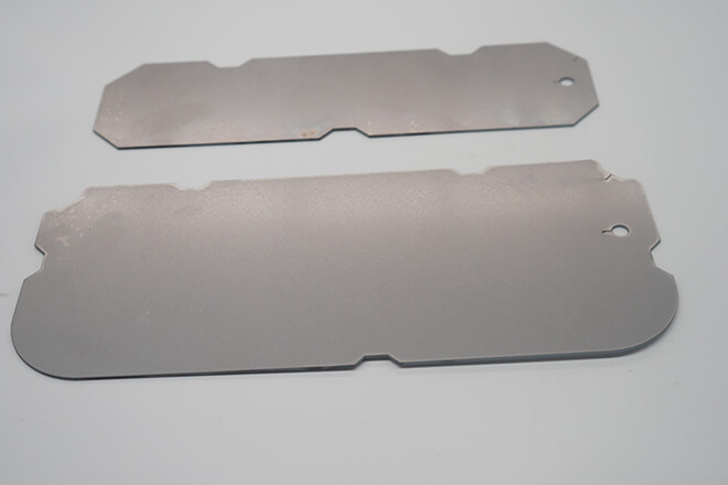 Stainless steel fixed backing plate