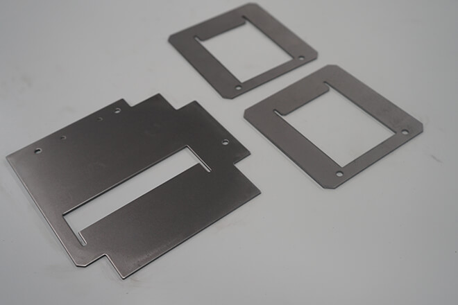 Aluminum distribution case sheet metal forming parts