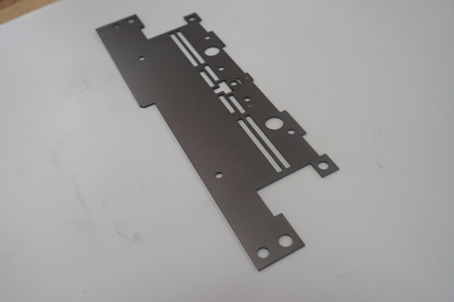 Stamping metal fixed plates