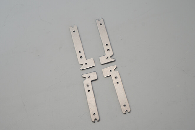 Stainless steel support connector parts