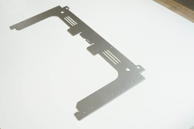 Aluminum alloy stamping board plate parts