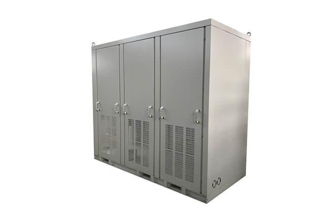 Metal control cabinet