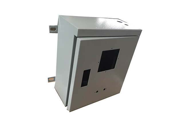 Wall mount switch control cabinet