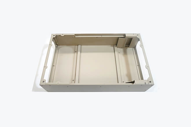 Electronic enclosure box