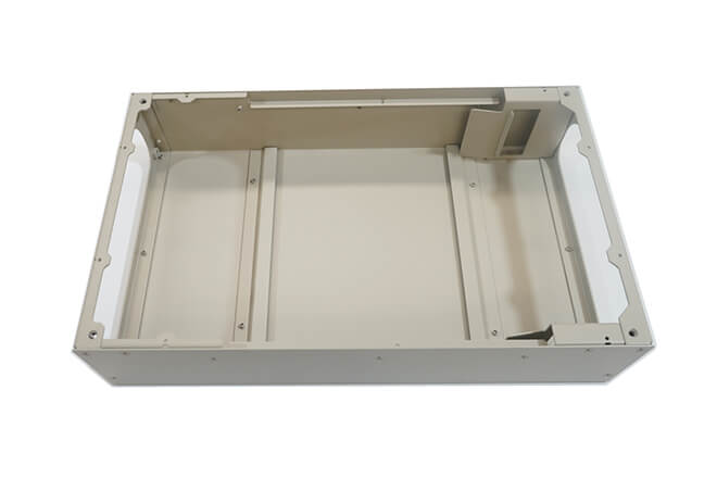 Sheet metal instrument enclosure