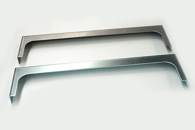 Sheet metal plate bracket