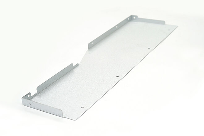 Aluminium bending parts for electronics