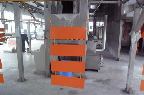 Sheet metal parts fabrication with powder coating service