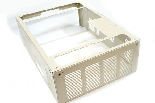 Sheet metal electronic box enclosure