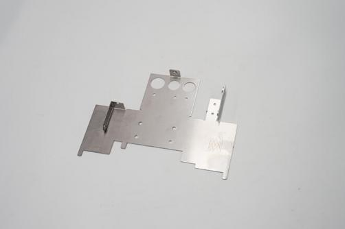 Fixed support sheet metal parts
