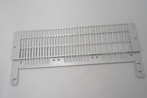 Sheet metal precise supporting stamping plate