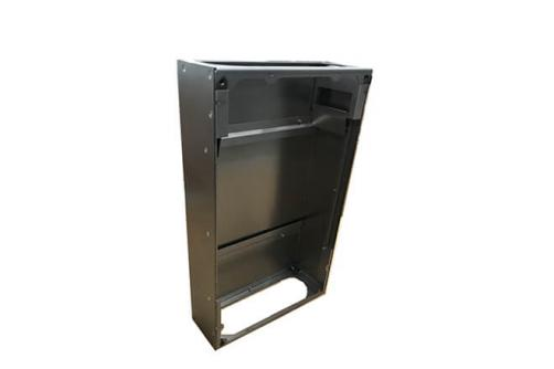 Sheet metal medical enclosure box