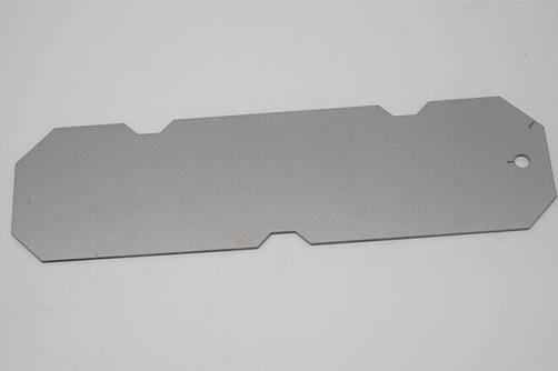 Acero inoxidable fixed backing plate