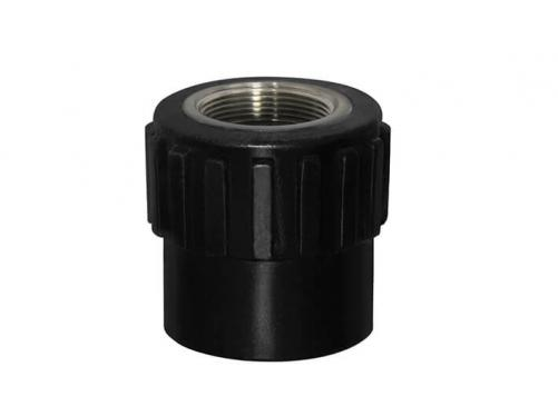 HDPE Socket Fitting-Female Adaptor(Copper Thread)