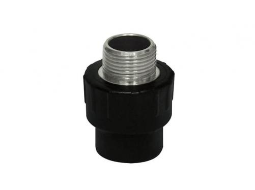 HDPE Socket Fitting-Male Adaptor (Copper Thread)