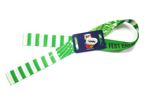 Disposable Woven Wristband RSW--KN01