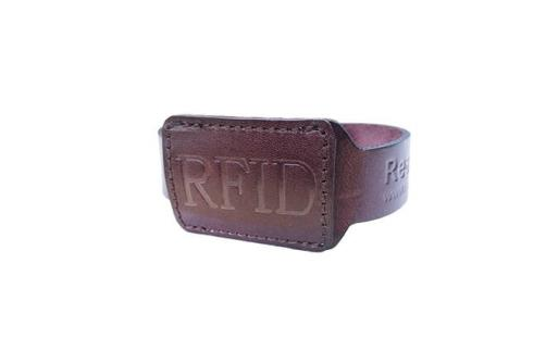 RFID Leather Wirstband RSW-L001