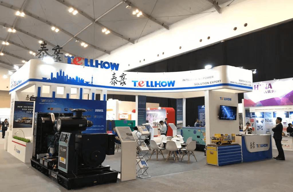 Tellhow Participated The Power-Gen Asia In Indonesia