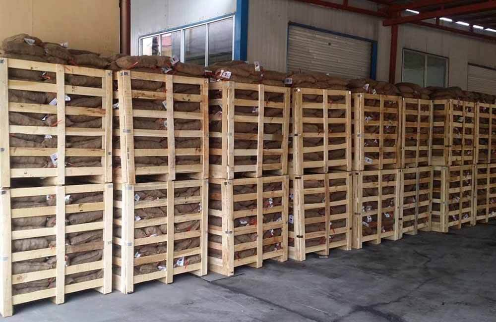 Double Wooden Box Pallets