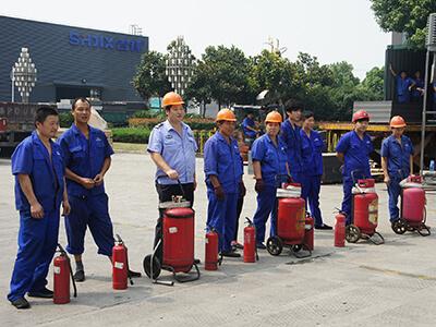 ALUBANG Staffs attend the Fire Drill