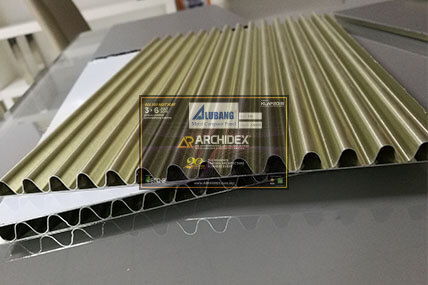 Aluminum Corrugated Panel