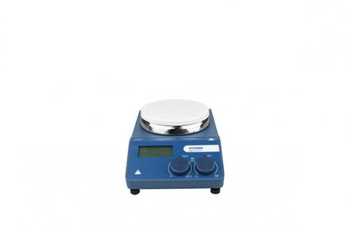 340℃ LCD Digital Hotplate Magnetic Stirrer 5 inch aluminum hotplate