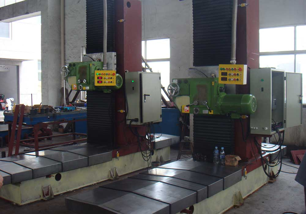 Box H Beam Structure End Milling Machine
