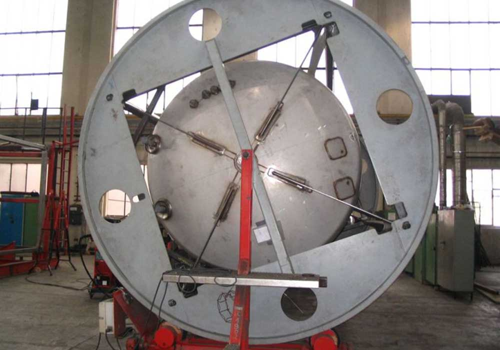 ISO Tank Container Rotation Machine