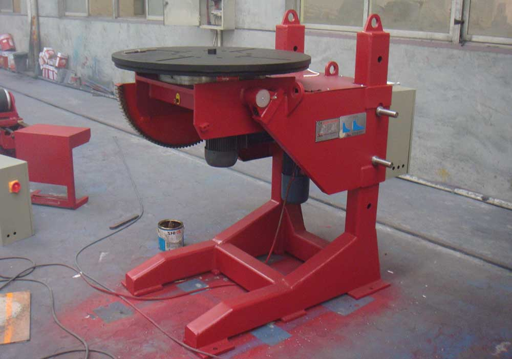 Elevated positioner