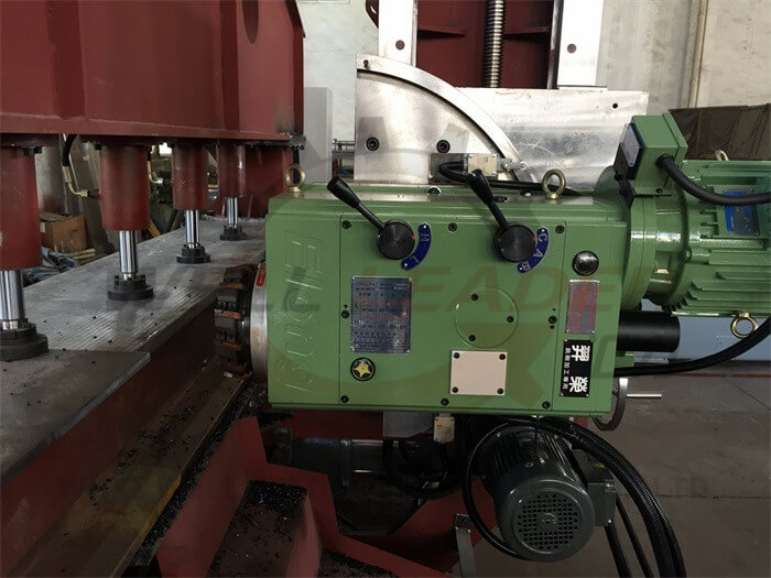 Plate Edge Milling Machine 4M Span