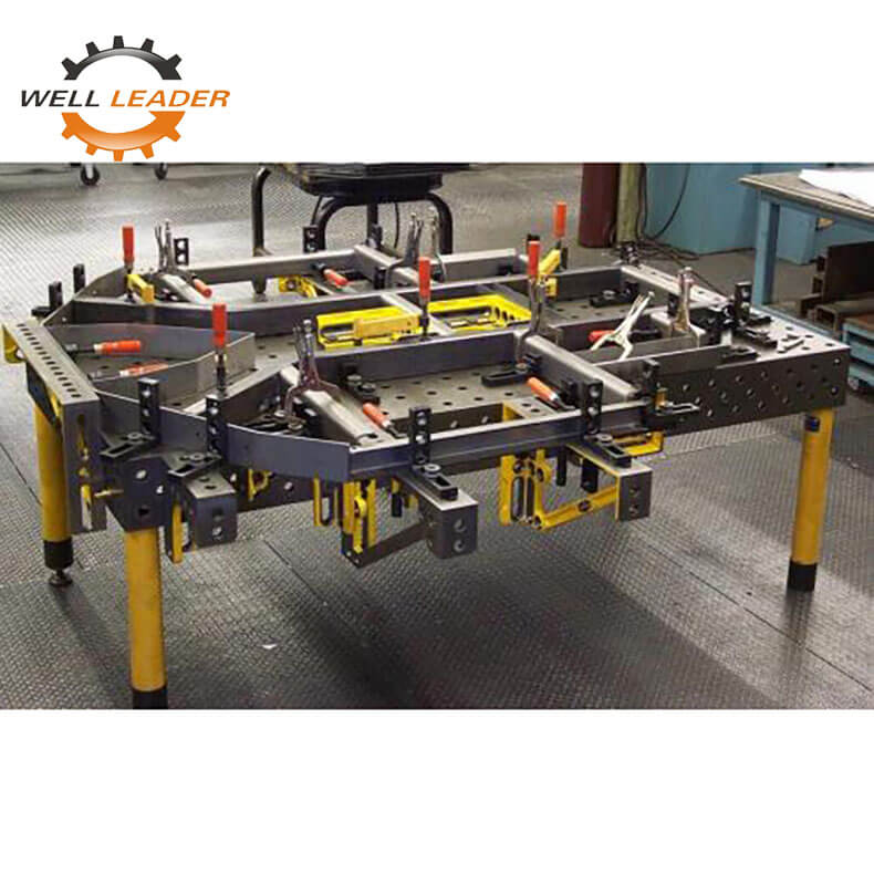Certiflat welding table