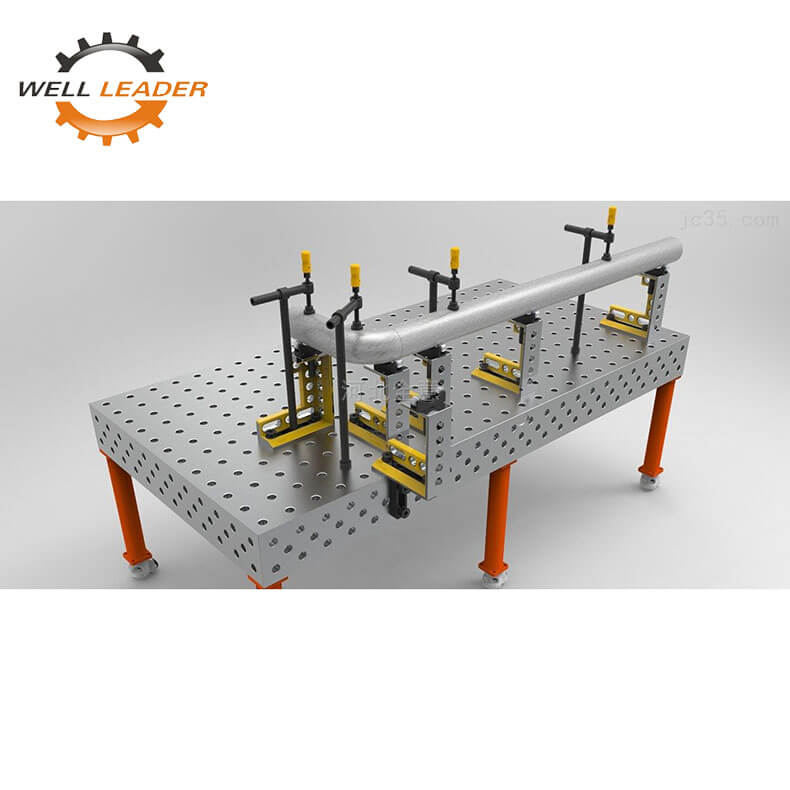 Pipe assembly table