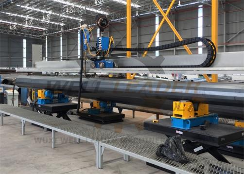 Self Centering Conventional Pipe Rotator GK-2