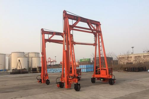 seperated container crane