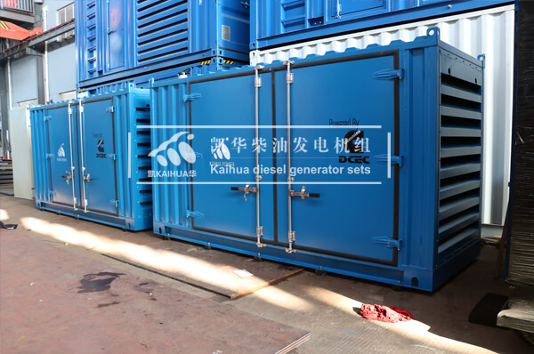 2 Sets 200KW Container Type Gen-set have been sent to Singapore successfully