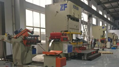 Highway Guardrail Spacer Block Roll Forming Machine
