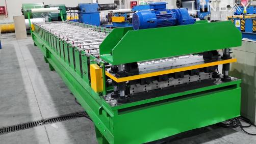 Culvert Corrugation Panel Roll Forming Machine