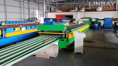 Truck Fender Roll Forming Machine