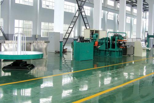 Cu and Al continuous extrusion machine